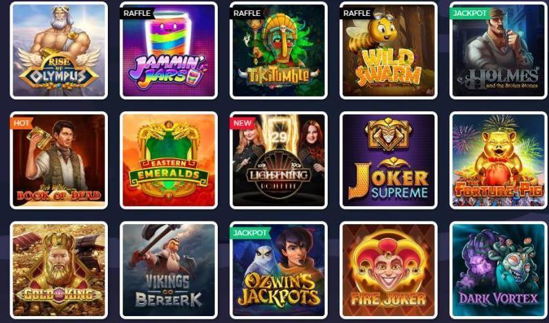 Lucky8 casino games