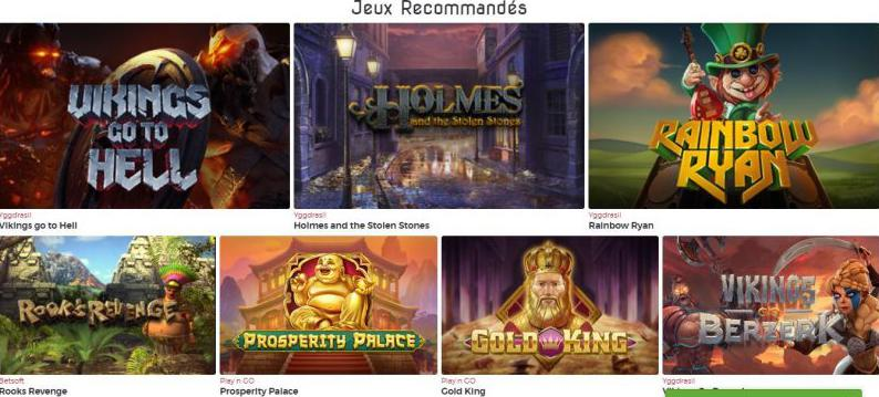 Lucky31 Casino recommended games