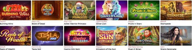 Lucky31 Casino games