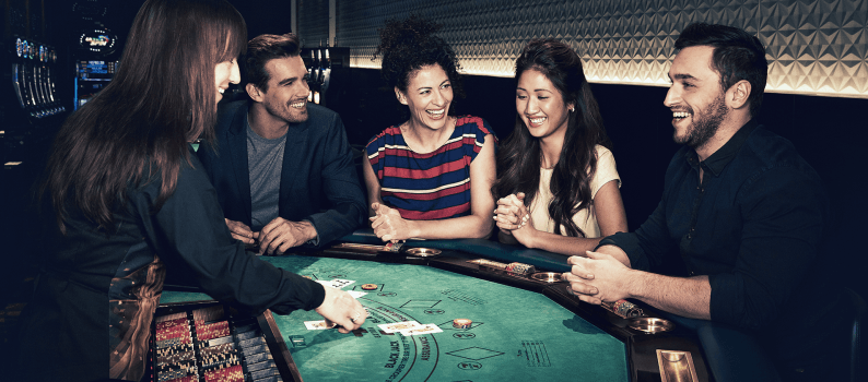 Blackjack game play