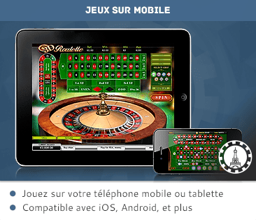 Tablet and mobile casino