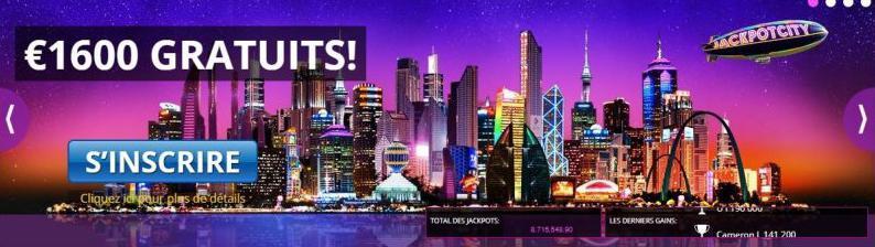 Jackpot city promotion