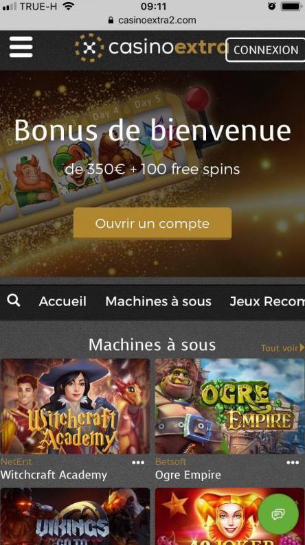 Mobile Casino Extra