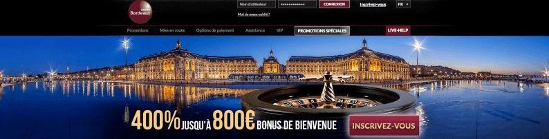 Casino Bordeaux online casino home